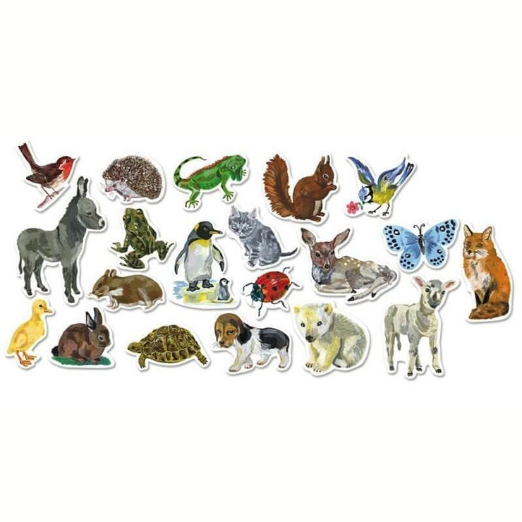 Vilac - Animals magnets designed by Nathalie Lété - French Blossom