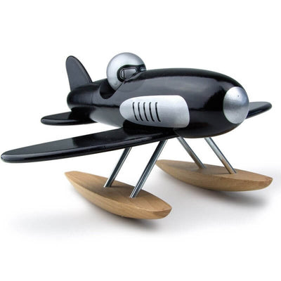 VILAC - Black hydroavion - Wooden toy