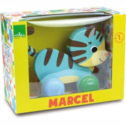 FRENCH BLOSSOM - Marcel the cat - Pull along toy by Vilac