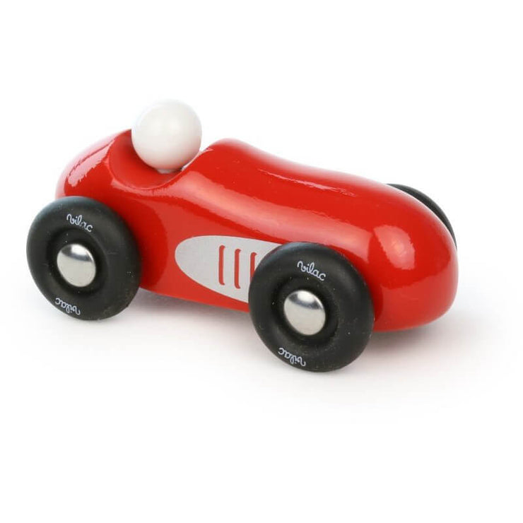 VILAC - Retro red racing car - Wooden Toy