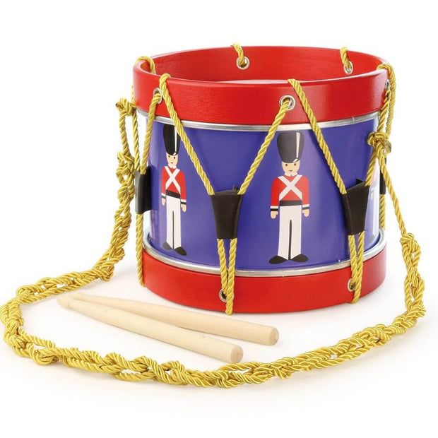 VILAC - Toy drum blue and red - Made in France