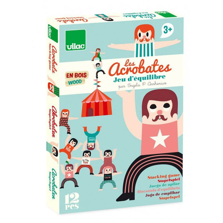 VILAC - Wooden stacking  game - The acrobats