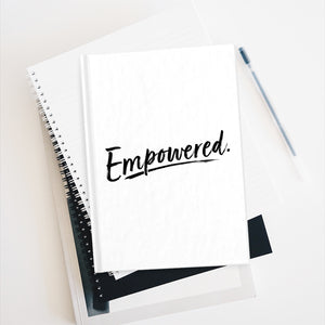Empowered Journal - Ruled Line