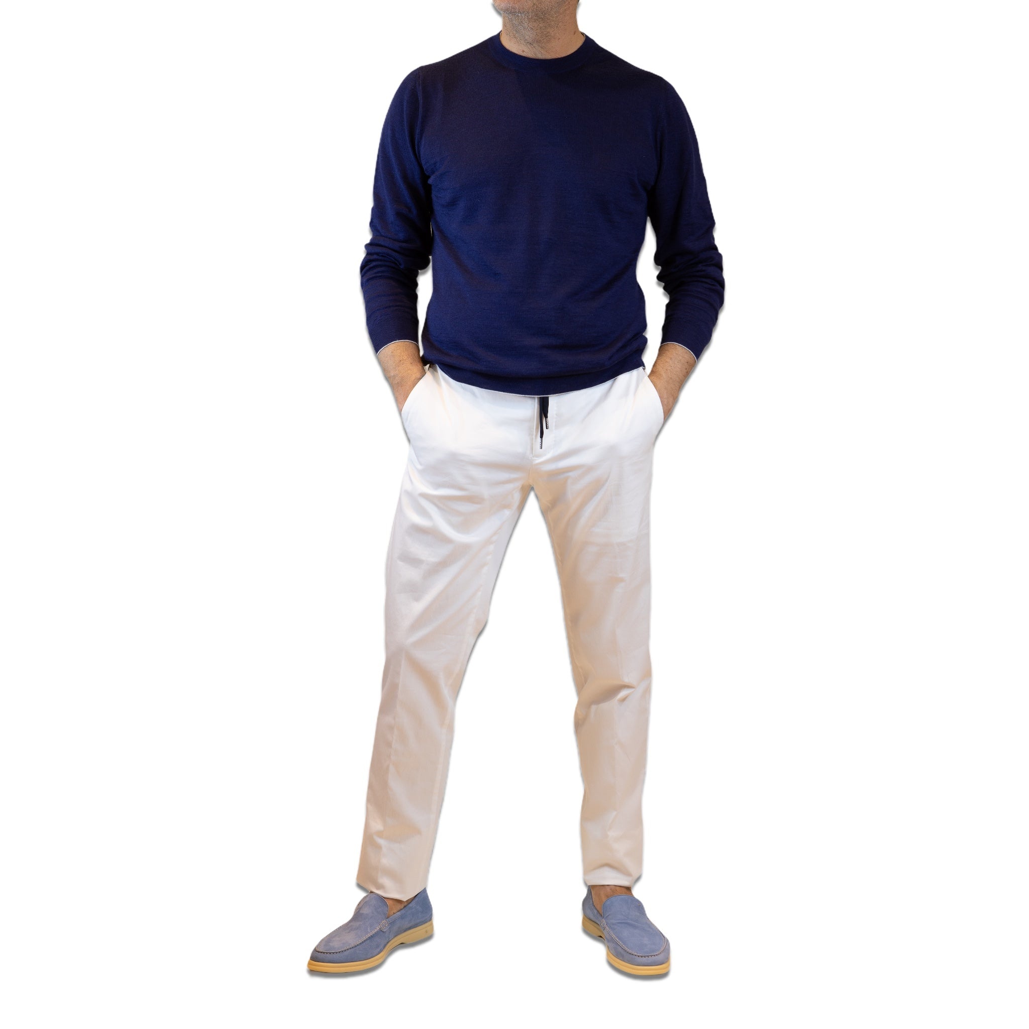 PT White trousers