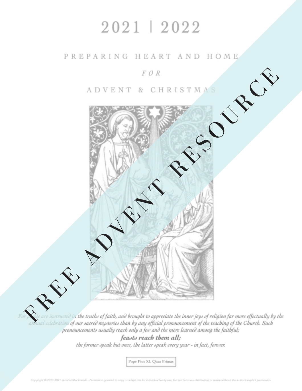 Advent & Christmas Planner 2020 | 2021