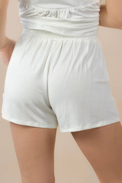 So Heavenly Shorts White