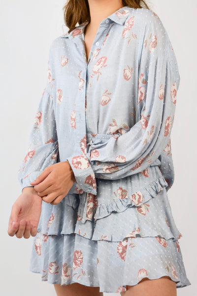 Easy Breezy Floral Blouse