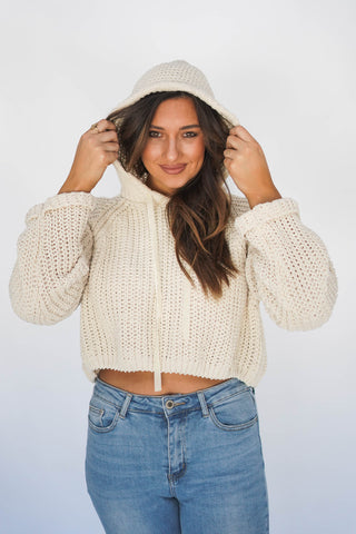 Collins Cropped Sweater