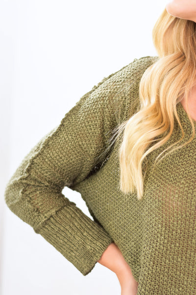 The Serena Round Neck Sweater