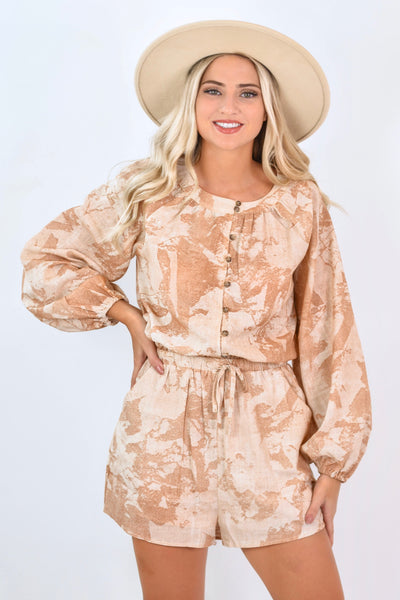 Eye Of The Orchard Romper