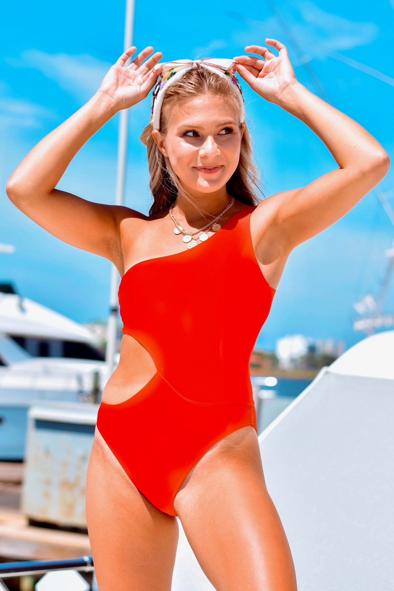 Baewatch Cutout One Piece Swimsuit