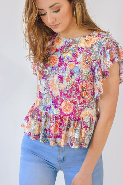 The Sophie Sequin Top
