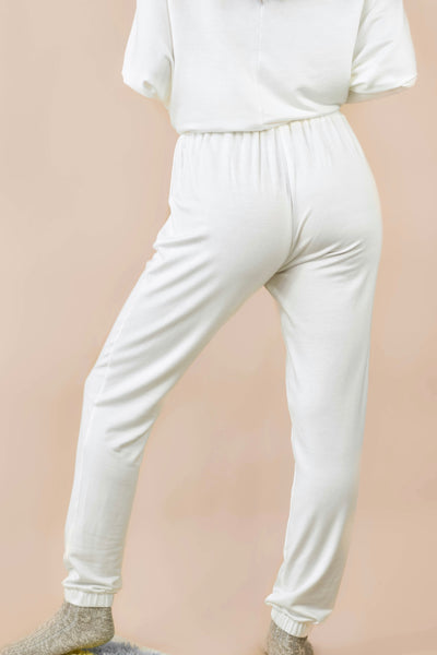 So Heavenly Joggers White