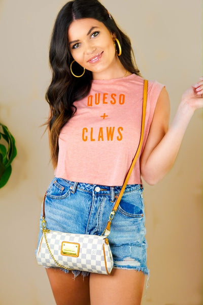 Queso And Claws Tee