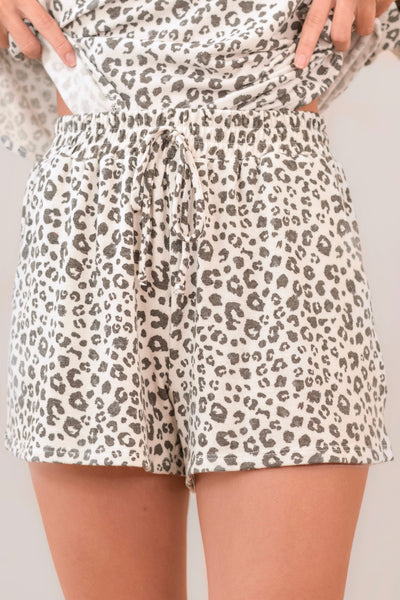 Cozy Little Cheetah Shorts