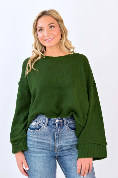 Clara Sweater Green
