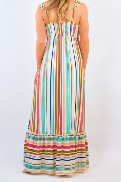 Savannah Stripe Maxi