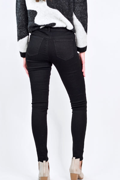 The Carrie Classic Black Skinny Jean