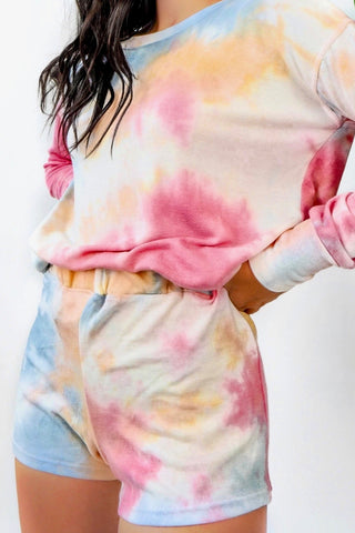 Dreamsicle Tie Dye Set