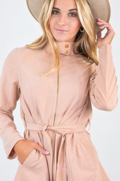 Caitlyn Coat Peach
