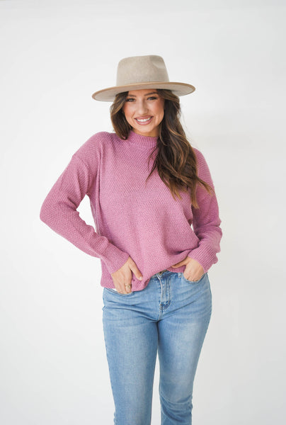 The Adelle Crew Neck Sweater