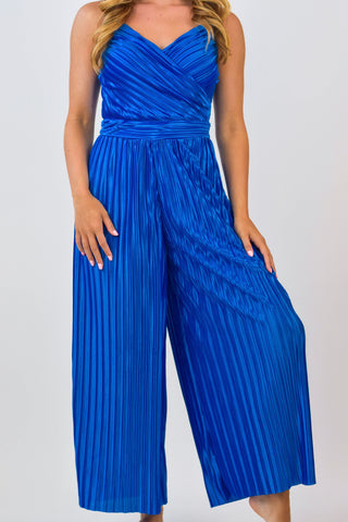 Oceans So Blue Jumpsuit