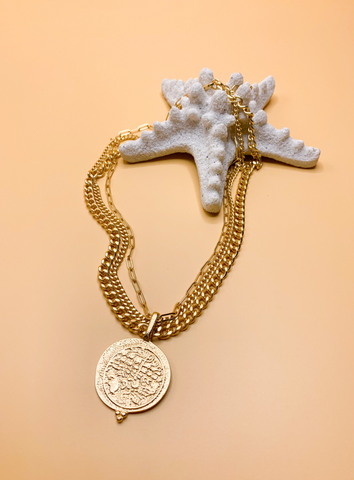 The Sala Coin Necklace