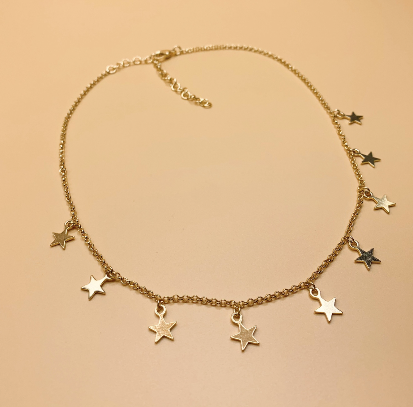 Demi Star Dangle Necklace