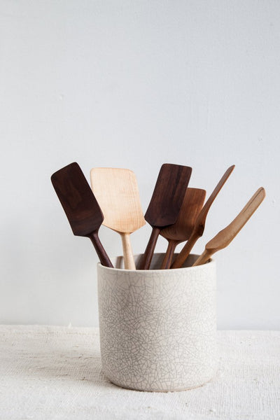 Utensil Holder in Crackle
