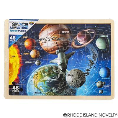 48 Piece Space Wooden Puzzle