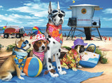 No Dogs on the Beach - 100 Piece Puzzle