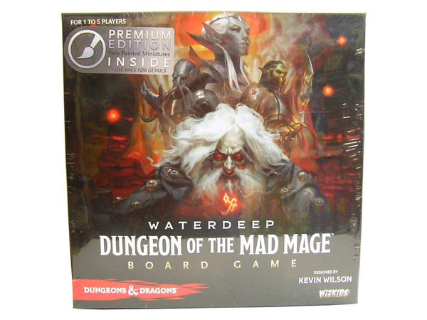 D&D Waterdeep Dungeon of the Mad Mage Board Game- Premium Edition