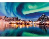 Northern Lights - 500 Piece Wooden Puzzle