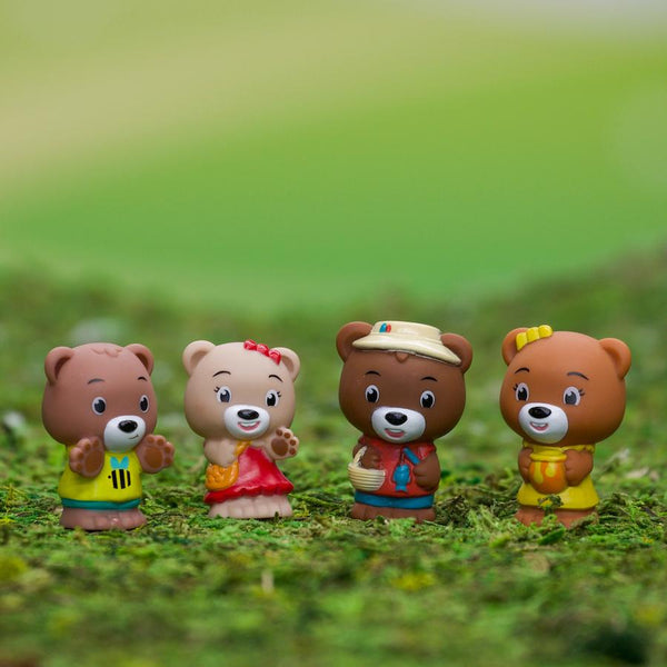Timber Tots Pawpaw Bear Family of 4