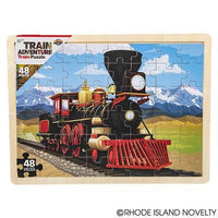 48 Piece Train Wooden Puzzle