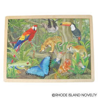 48 Piece Jungle Animal Wooden Puzzle