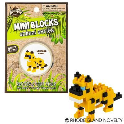 Mini Blocks - Leopard 68 Pieces