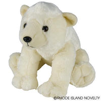 "13"" Animal Den Polar Bear Plush"