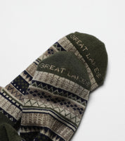 North Shore Cabin Socks