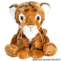 "8"" ANIMAL DEN TIGER PLUSH"
