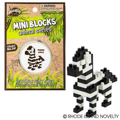Mini Blocks - Zebra 63 Pieces