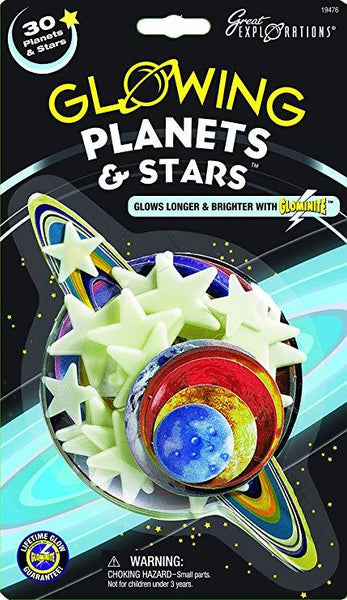 Glow in the Dark Planets & Stars