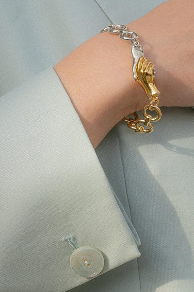 Gentlewoman's Agreement Bracelet in Duet