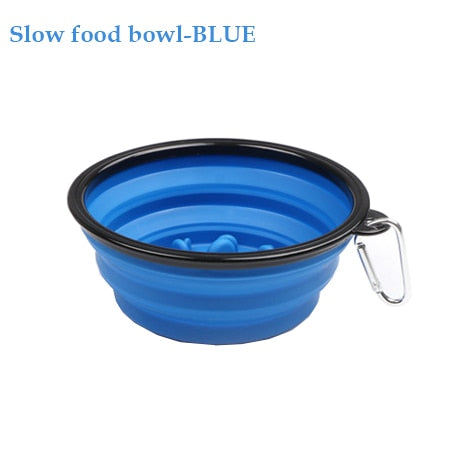 Silicone Travel Dog Bowls