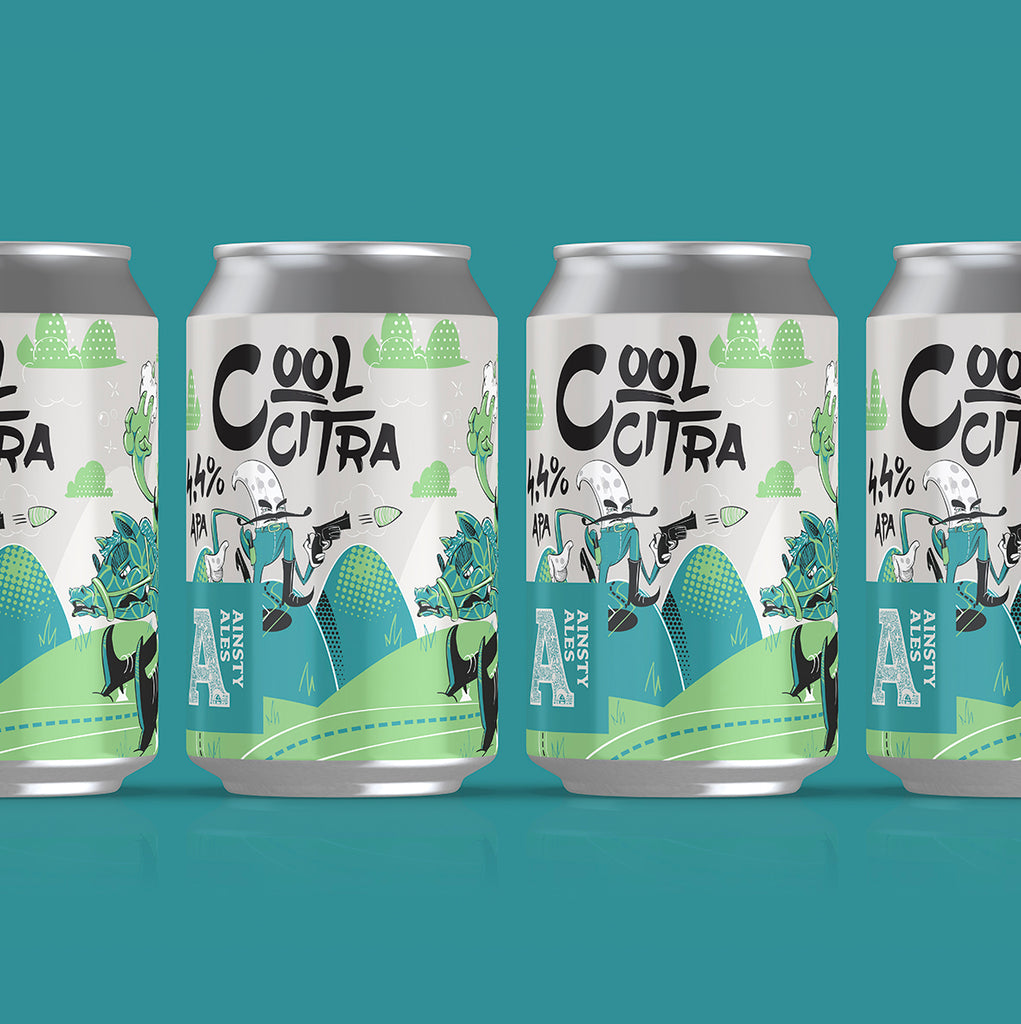 Cool Citra, American Pale Ale 4.4% (12 pack)