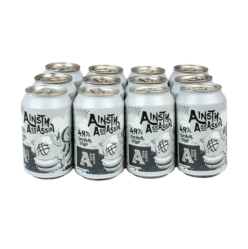 Ainsty Assassin, Oatmeal Stout 4.9% (12 pack)