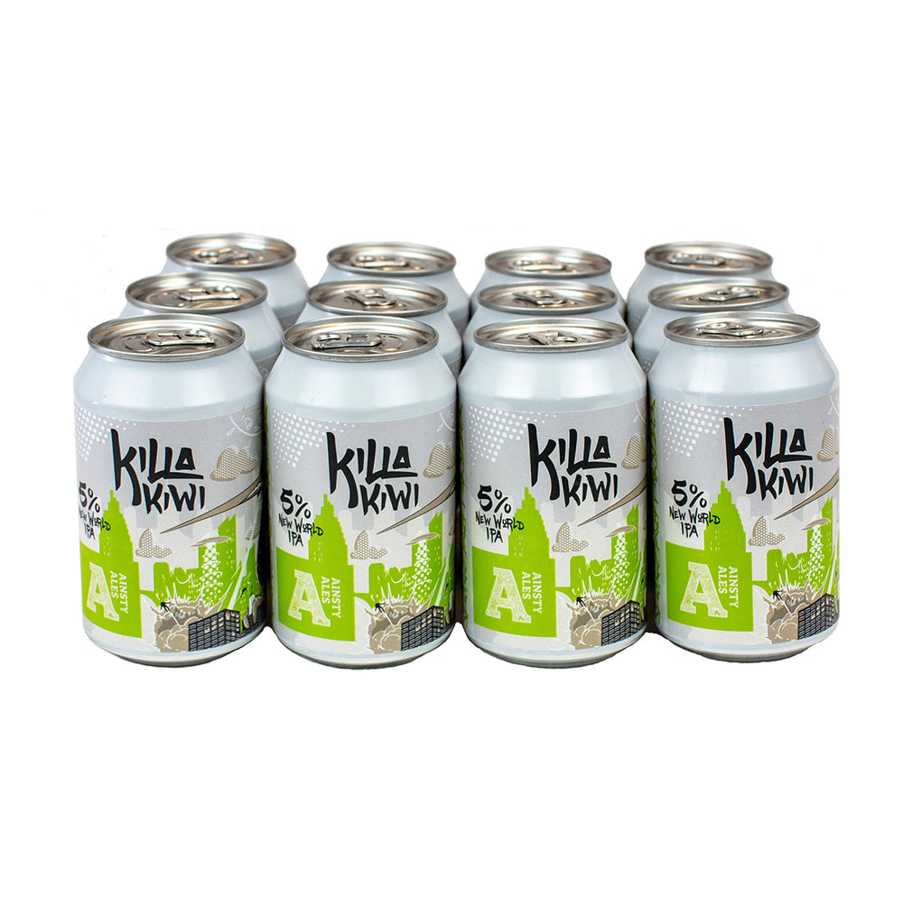 Killa Kiwi New World IPA 5% (12 pack)