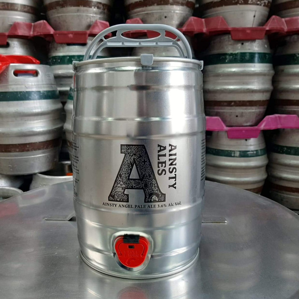 Enjoy fresh beer at home with our 5L Mini Kegs