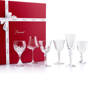 Baccarat Wine Therapy Gift Set of 6 Glasses