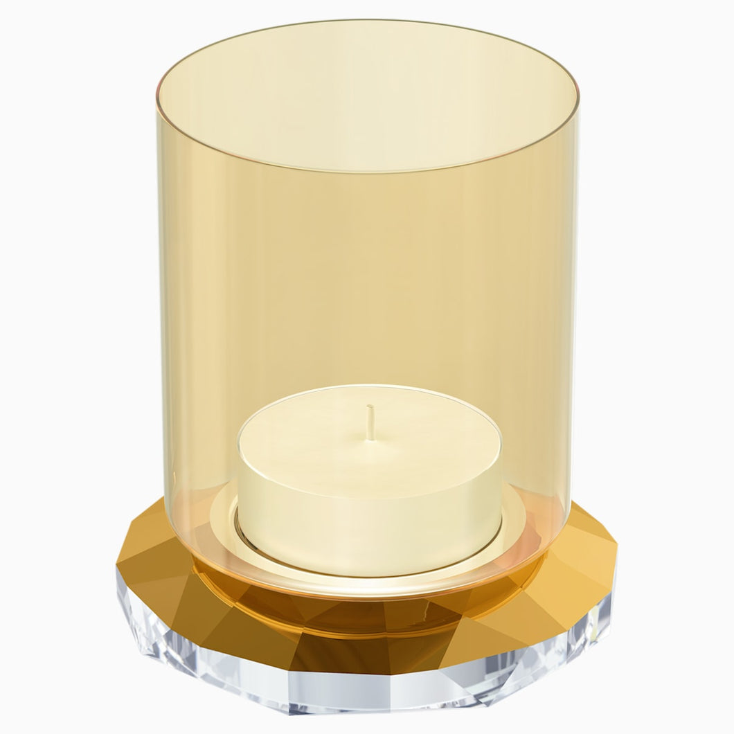 ALLURE TEA LIGHT HOLDER, GOLD TONE